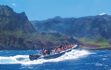Kauai Boat Tours Out Of Hanalei
